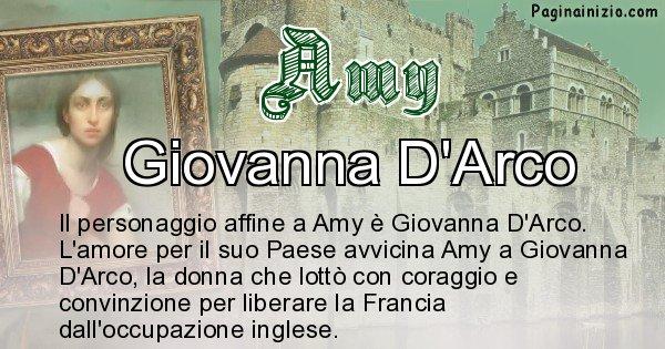 Amy - Personaggio storico associato Amy