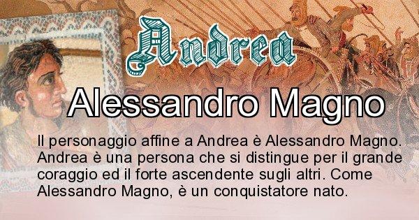 Andrea - Personaggio storico associato Andrea