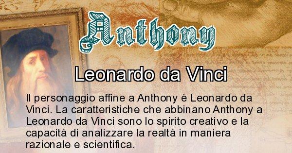 Anthony - Personaggio storico associato Anthony