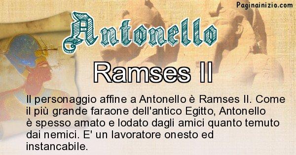 Antonello - Personaggio storico associato Antonello