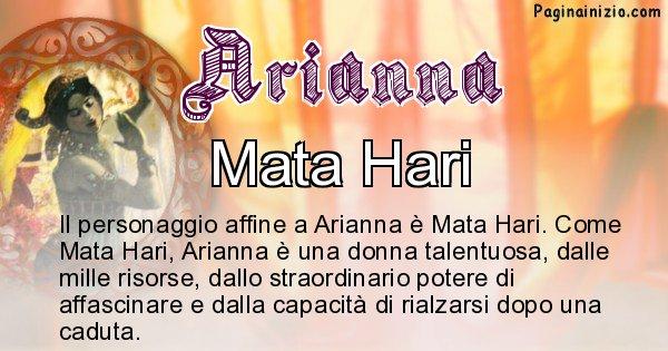 Arianna - Personaggio storico associato Arianna