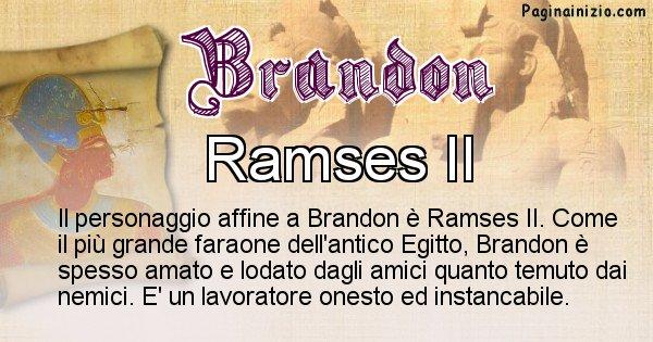 Brandon - Personaggio storico associato Brandon