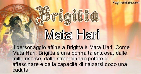 Brigitta - Personaggio storico associato Brigitta