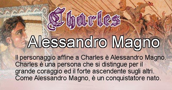 Charles - Personaggio storico associato Charles