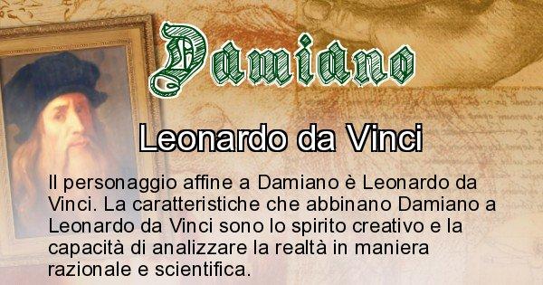 Damiano - Personaggio storico associato Damiano