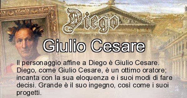 Diego - Personaggio storico associato Diego