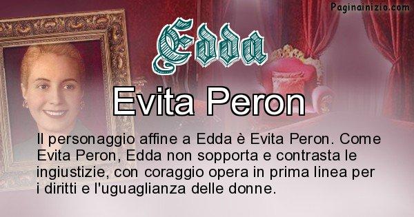 Edda - Personaggio storico associato Edda