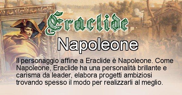 Eraclide - Personaggio storico associato Eraclide