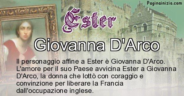 Ester - Personaggio storico associato Ester