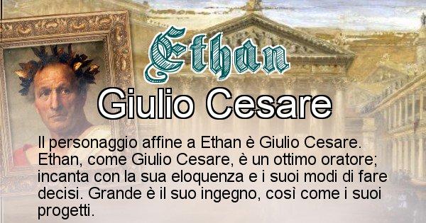 Ethan - Personaggio storico associato Ethan