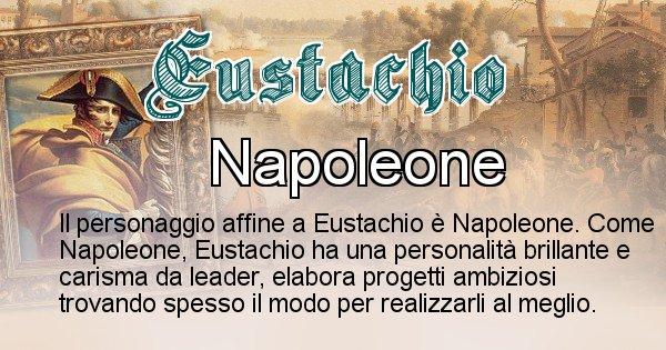 Eustachio - Personaggio storico associato Eustachio