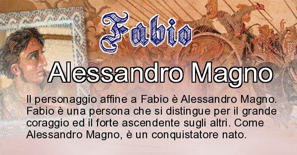 Fabio - Personaggio storico associato Fabio