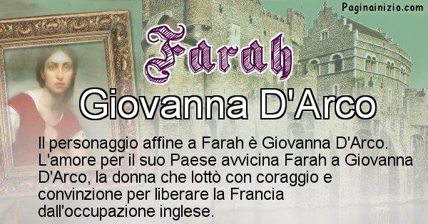 Farah - Personaggio storico associato Farah