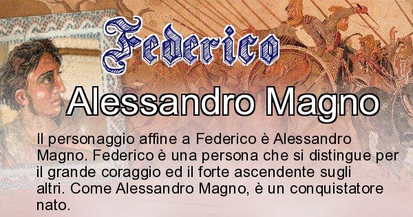 Federico - Personaggio storico associato Federico