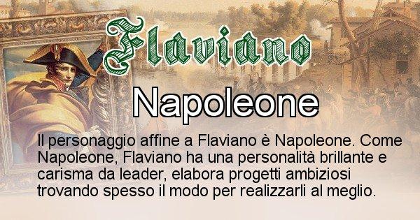 Flaviano - Personaggio storico associato Flaviano
