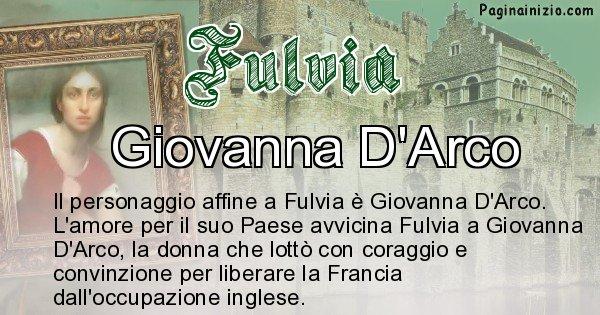 Fulvia - Personaggio storico associato Fulvia