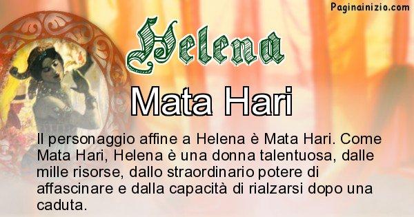 Helena - Personaggio storico associato Helena