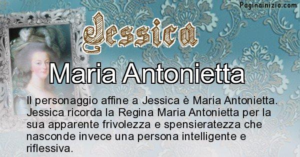 Jessica - Personaggio storico associato Jessica