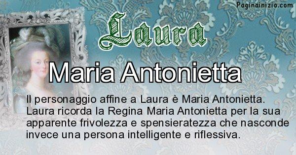 Laura - Personaggio storico associato Laura