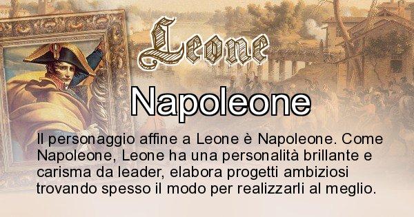 Leone - Personaggio storico associato Leone
