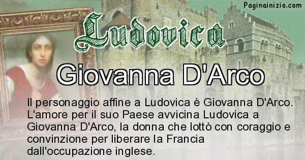 Ludovica - Personaggio storico associato Ludovica