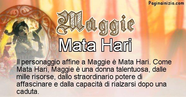 Maggie - Personaggio storico associato Maggie