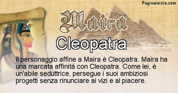 Maira - Personaggio storico associato Maira