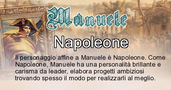 Manuele - Personaggio storico associato Manuele