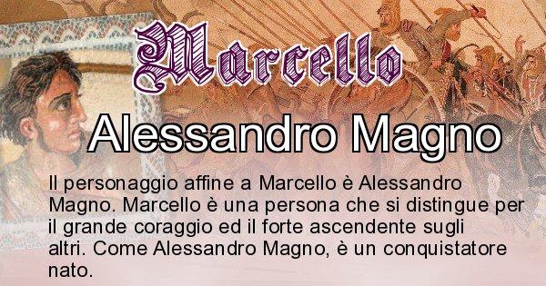 Marcello - Personaggio storico associato Marcello