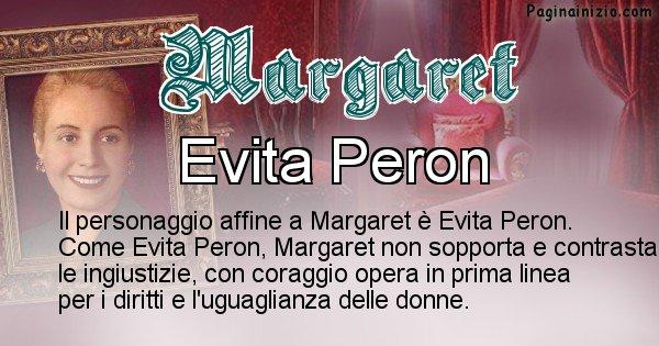 Margaret - Personaggio storico associato Margaret