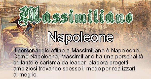 Massimiliano - Personaggio storico associato Massimiliano