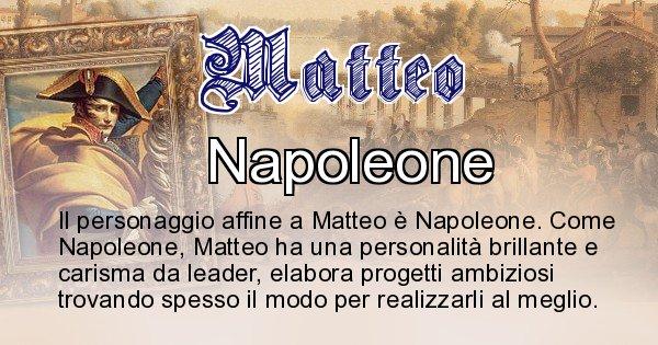Matteo - Personaggio storico associato Matteo