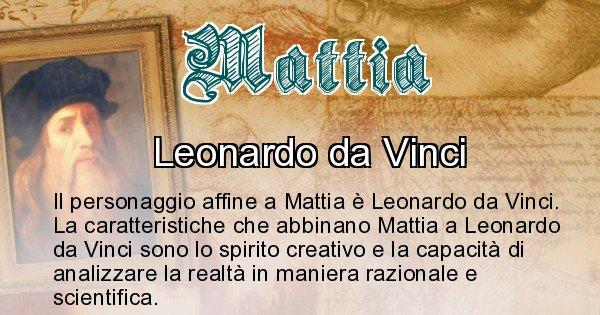 Mattia - Personaggio storico associato Mattia