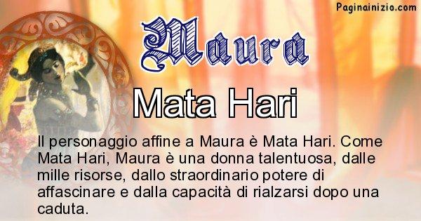 Maura - Personaggio storico associato Maura