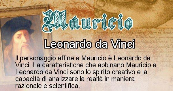 Mauricio - Personaggio storico associato Mauricio