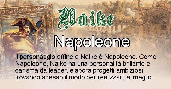 Naike - Personaggio storico associato Naike