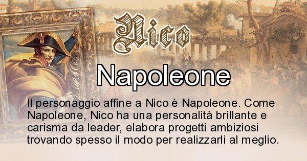 Nico - Personaggio storico associato Nico
