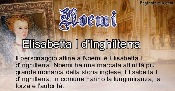 Noemi - Personaggio storico associato Noemi