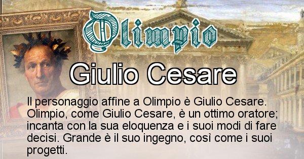 Olimpio - Personaggio storico associato Olimpio