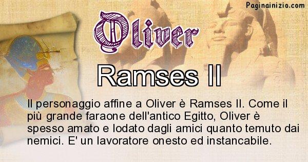 Oliver - Personaggio storico associato Oliver