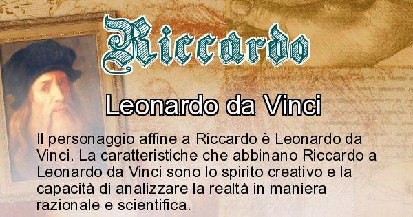 Riccardo - Personaggio storico associato Riccardo