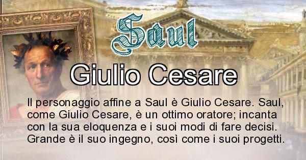 Saul - Personaggio storico associato Saul