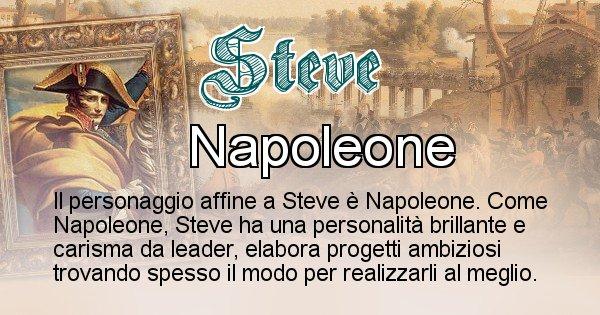 Steve - Personaggio storico associato Steve