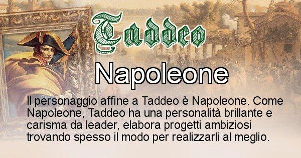 Taddeo - Personaggio storico associato Taddeo