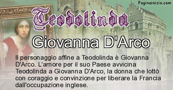 Teodolinda - Personaggio storico associato Teodolinda