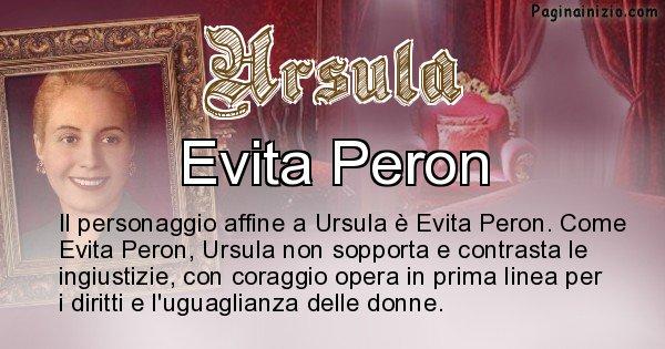 Ursula - Personaggio storico associato Ursula