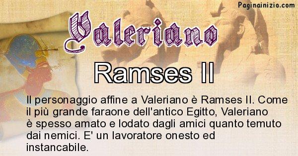 Valeriano - Personaggio storico associato Valeriano