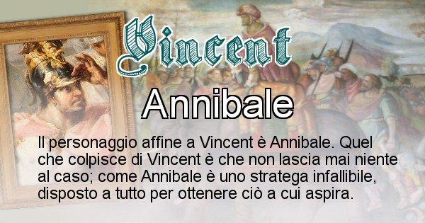 Vincent - Personaggio storico associato Vincent