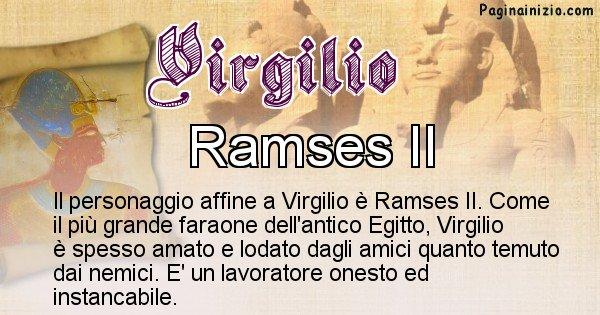 Virgilio - Personaggio storico associato Virgilio