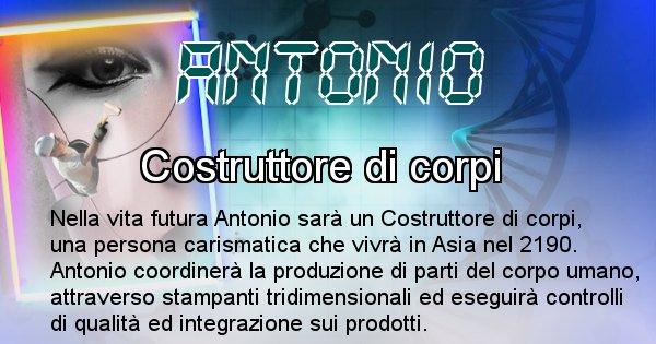Antonio - Chi sarà nella prossima vita Antonio